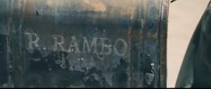 John Rambo Letter Box