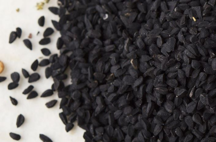Grains of Nigella Satvia (Black Seed)