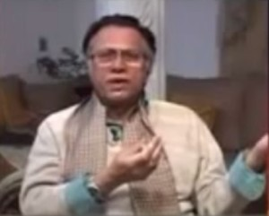 Angry Hassan Nisar